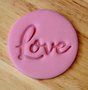 Love Cookie Embosser Stamp 3033