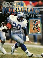 1990 Beckett Football Magazine #4 - BARRY SANDERS