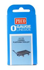 Peco LK-753 4 Wheel Platform Trolley O Gauge