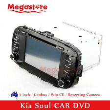 "7"" Car DVD GPS Navigation Touch Screen Stereo Radio For Kia Soul 2014-2016"
