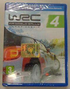 Console Sony Playstation PSVita PAL ITA NUOVO FIA World Rally Championship WRC 4