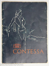 Zeiss Contessa Camera Manual Instruction Book - English - USED B91A