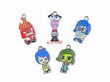 Wholesale 100pcs Disney inside out Metal Charms Pendants DIY Jewellery Making