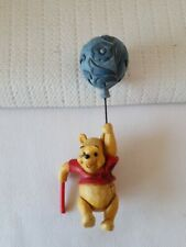 "Jim Shore Winnie the Pooh Plant Hanger Blue Balloon Enesco 4.75"" Tall"