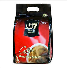 G7 Pure Black Instant Coffee 100 SACHETS Trung Nguyen Vietnamese Coffee