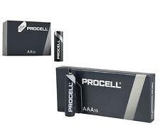 Duracell Industrial Confezione da 10 1,5V AA Alkaline Batterie - Arancione/Nero