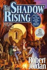 Wheel of Time: The Shadow Rising 4 by Robert Jordan (1992, Hardcover, Revised)
