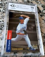 CLAYTON KERSHAW 2008 Upper Deck Rookie Card RC 1993 SP BGS BCCG 10 Dodgers HOT