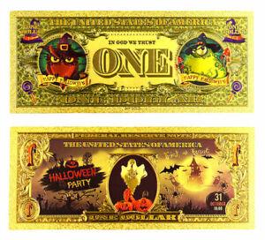 """★★ SPECIAL HALLOWEEN : BILLET POLYMER  """" OR """"  1 DOLLAR (type2) ★ HDZ.70"""
