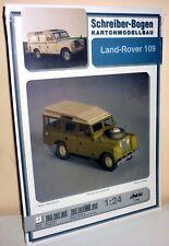 + KARTONMODELLBAU  Land Rover 109   SCHREIBER-BOGEN  72600
