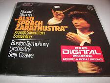 Strauss Also Sprach Zarathustra Seiji Ozawa LP NM Philips 6514-221 Holland 1982