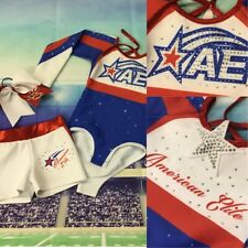 Real Cheerleading Uniform All Stars Girls 6/7