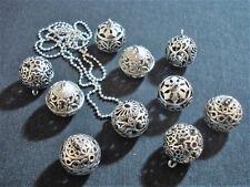 stock 10 collane chiama angeli bola sonora 100 cm bigiotteria argento lotto