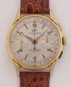 BWC Chronographe Suisse Herrenchronograph Vintage 50 er Jahre