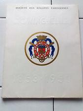 Livre Plaquette ROWING CLUB 1853-1953 AVIRONS REGATE PARIS Bridge Chincholle