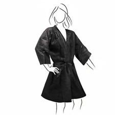 Conf. 150 Kimono monouso in TNT nero