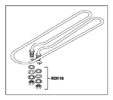 HEATER ELEMENT ASSEMBLY  for AUTOCLAVES  MIDMARK  RITTER M9/M11 RPI #MIH049