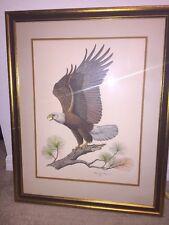 The American Bald Eagle Audubon Art By ALBERT EARL GILBERT 1976/ Signed