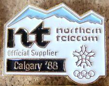 1988 Calgary Olympics  Northern Telecom  pin