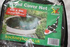 KOCKNEY KOI POND COVER NET 6M X 4M KOI POND FILTER GARDEN