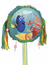 Finding Dory Nemo Sea Fish Birthday Party Pop Out Pull String Pinata Party Game