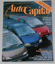 AUTOCAPITAL 5/1991 FERRARI 348 ZAGATO - ALPINE A 610 TURBO - JAGUAR E TYPE