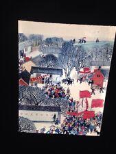 Hu-hsien Peasant Folk Art From Niutung Commune. Chinese Art 35mm Slide