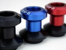 Driven Racing 10mm Swingarm D Axis Spools  Black/Black DXS-10.1 BK*