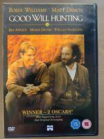 Good Will Hunting DVD 1997 Oscar Winning Maths Genius Drama Classic