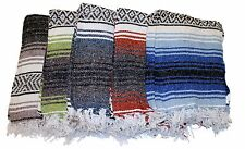 Assorted Yoga Blanket Mat Mexican Rug Throw Hot Rod Seat Cover 100% Acrylic