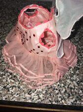 AG ANGELINA BALLERINA ON STAGE PINK ROSE FAIRY PRINCESS DRESS TUTU & CROWN