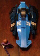 Custom Lego Star Wars Jedi Fighter Blue and Black, With Custom Jedi Knight !