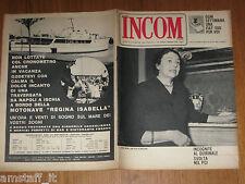 INCOM 1964/35=LAURA SEGNI=I CAFFE' DI TRIESTE=SEAN CONNERY=JOHNNY DORELLI SHOW=