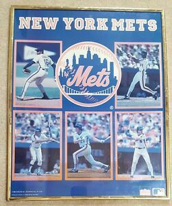 New York Mets, Framed Poster, Memorabilia, & Collectibles.