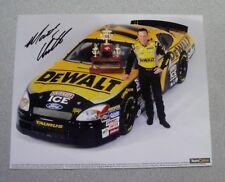 MATT KENSETH SIGNED 8x10 GLOSSY PHOTO AUTOGRAPH NASCAR