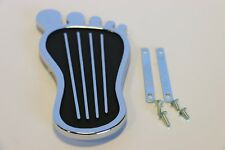 Barefoot Chrome Gas Pedal Cover with Hardware Classic Vintage Retro Hot Rod Rat