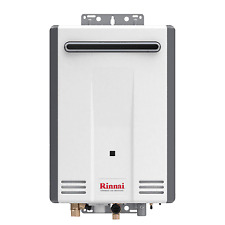 Rinnai V53DeN Outdoor Whole House Natural Gas Tankless Water Heater 5.3 Gallons