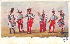 2074) GRANATIERI DI SARDEGNA, UNIFORMI STORICHE DAL 1820 AL 1830. FESTA 1922. VG