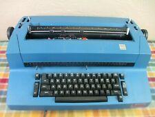 Blue IBM Correcting Selectric II Typewriter with Extras