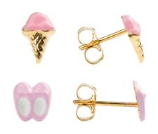 Studex Sensitive Limited Edition Motif Gold Plated Stud Hypo-allergenic Earrings