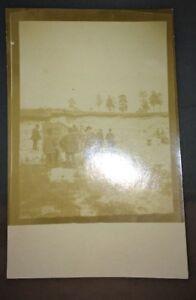PICARDIE .EXCURSIONS GÉOLOGIQUES 1909. 5 CARTES PHOTOS.