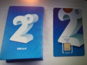 2 Degrees sim cards