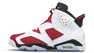 "Nike Air Jordan 6 ""Carmine"" 8-14 CT8529-106 100% Authentic PREORDER"