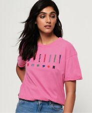 Superdry Womens Paulo Embroidered T-Shirt