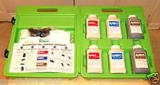 Spill-X Portable Hazardous Chemical Treatment Neutralizer Kit w/ Accessory Tool