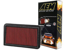 AEM 28-20260 STOCK REPLACEMENT WASHABLE REUSABLE PANEL AIR FILTER [MADE IN USA]