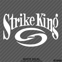 Strike King Fishing Lures Outdoor Sports Vinyl Decal Sticker - Choose Color/Size