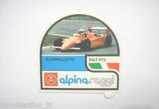 ADESIVO AUTO F3 / Old Sticker Vintage GUIDO CAPPELLOTTO ALPINA RAGGI (cm 11x10)