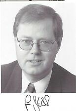 Autogramm SPD Kanzlerkandidat Peer Steinbrück als Wirtschaftsminister Schleswig