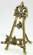 Large Brass Scrying Mirror Stand , Highly detailed